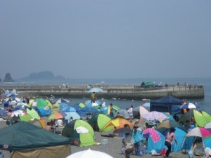 2013.8.10 いるか浜堤防