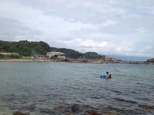 爪木崎 湾側 2013.9.14