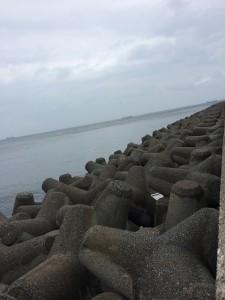 福浦 北向きテトラ 2014.3.30
