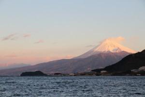 富士山 from 重寺港 2015.1.1