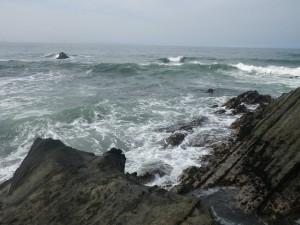 荒崎 ドンドン引き脇 海