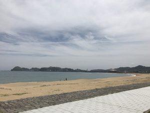 那智海水浴場(ブルービーチ那智) 2017.5.5
