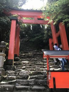 神倉神社 石段下 2017.5.5