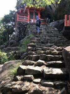 神倉神社 最上部 2017.5.5